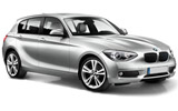 BMW 1 Series from Sixt, Malpensa, Italy