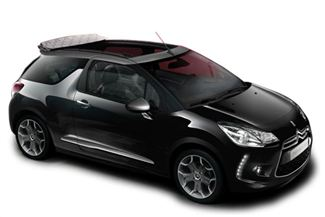 Citroen DS3 Convertible from Budget, Palermo, Italy