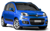Fiat Panda car rental at Bari, Italy