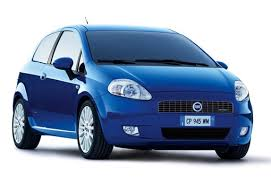 Fiat Punto from Europcar, Palermo, Italy