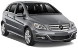 Mercedes B Class car rental at Bari, Italy