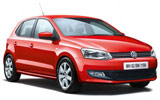 Volkswagen Polo car rental at Bari, Italy