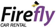 Firefly car rental at Alghero Airport, Sardinia