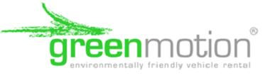 Green Motion car rental at Alghero Airport, Sardinia