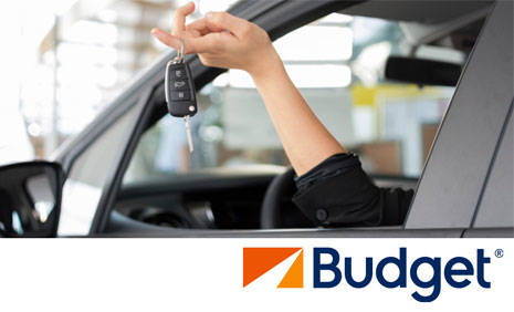 Book in advance to save up to 40% on Budget car rental in Casier