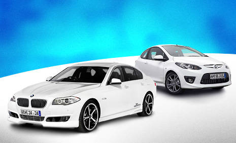 Book in advance to save up to 40% on Sport car rental in Suni